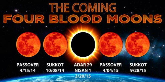 Blood moon madness s douglas woodward for Portend or portent