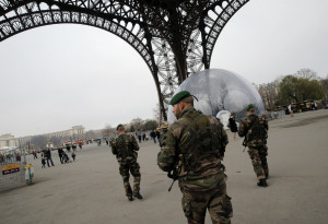 French Soldiers After the Terrorist Attacks