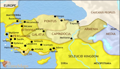 ANATOLIA -- The Seleucid Empire