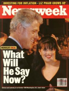 an introduction to the analysis of the monica lewinsky scandal Latest news, headlines, analysis, photos and videos on monica lewinsky   secret service agents ordered to testify in lewinsky scandal, may 22, 1998.