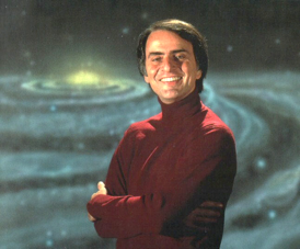 AUTHOR AND COSMOLOGIST, CARL SAGAN